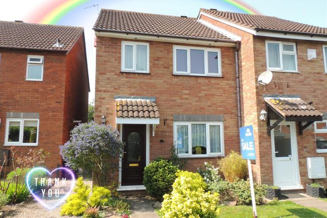 Thumbnail End terrace house for sale in The Dell, North Common, Bristol
