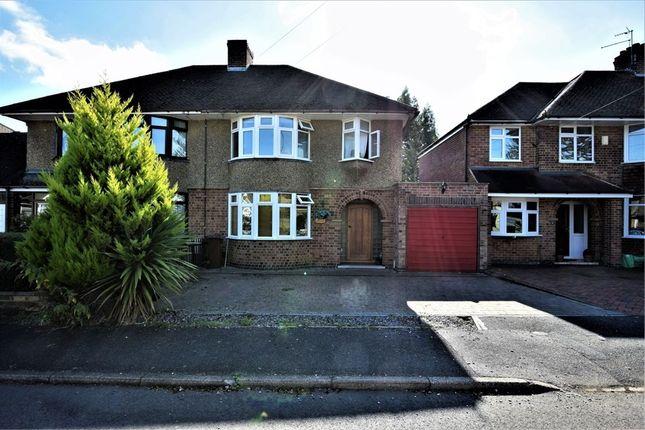 Thumbnail Semi-detached house for sale in Stone Way, Duston, Northampton
