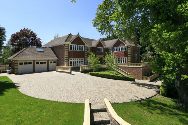 Thumbnail Detached house for sale in Camp End Road, St. Georges Hill, Weybridge
