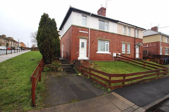 Thumbnail Semi-detached house to rent in Hunter Avenue, Ushaw Moor, Durham