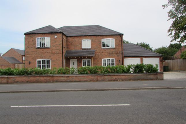 Thumbnail Detached house for sale in Cosby Road, Countesthorpe, Leicester