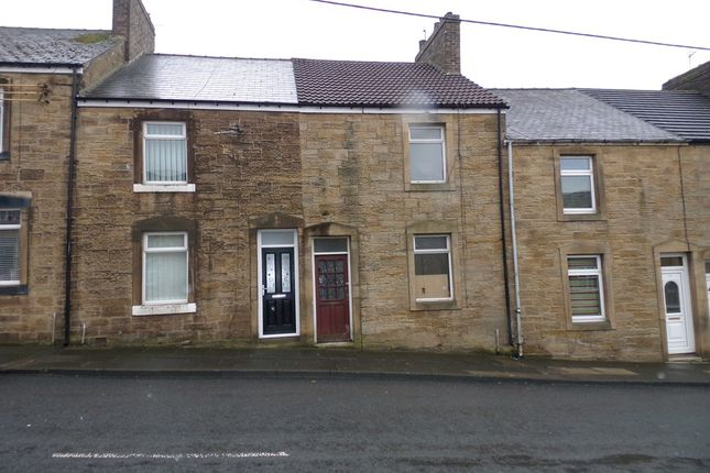 Thumbnail Terraced house to rent in Park Road, Blackhill, Consett
