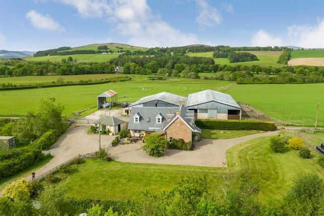 Thumbnail Farm for sale in Midderry Farm, Kilry, Blairgowrie