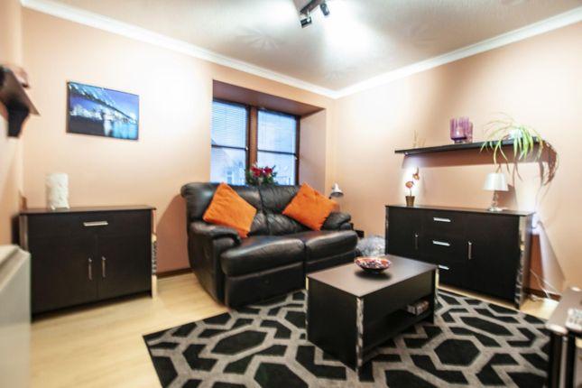 Lounge of Flat 8 151 West Stirling Street, Alva, Clackmannanshire 5El, UK FK12