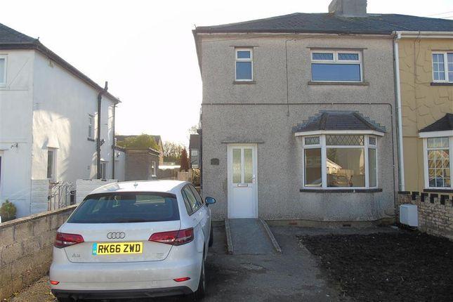 Thumbnail Semi-detached house to rent in Litchard Park, Bridgend