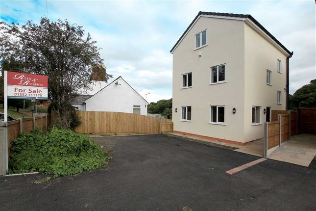 Thumbnail Detached house for sale in Lake View, Old Quay, Greenfield, Flintshire