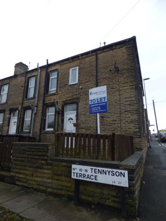 Thumbnail End terrace house to rent in Tennyson Terrace, Leeds