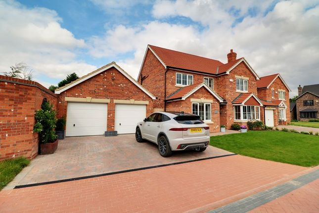 Thumbnail Detached house for sale in Sycamore Close, Wootton, Ulceby