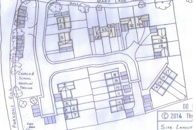 Thumbnail Land for sale in Parsons Hill, Great Bromley, Colchester