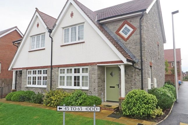 Thumbnail Semi-detached house to rent in Bray Road, Holsworthy