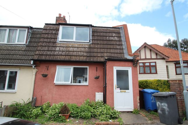 Thumbnail End terrace house for sale in Jefferies Road, Ipswich