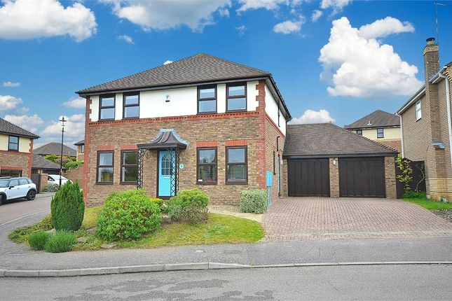Thumbnail Detached house for sale in Colonial Drive, Collingtree Park, Northampton