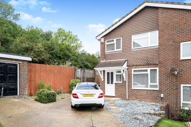 Thumbnail Semi-detached house for sale in Bush Cottage Close, Portslade, Brighton