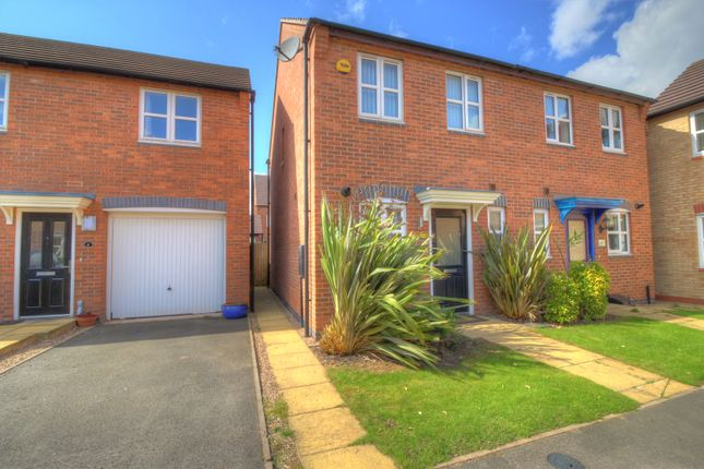 2 bed semi-detached house for sale in The Carabiniers, Coventry