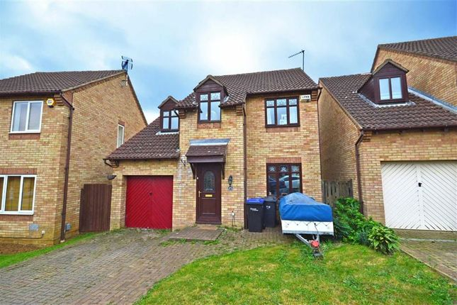 Thumbnail Detached house for sale in Allard Close, Northampton