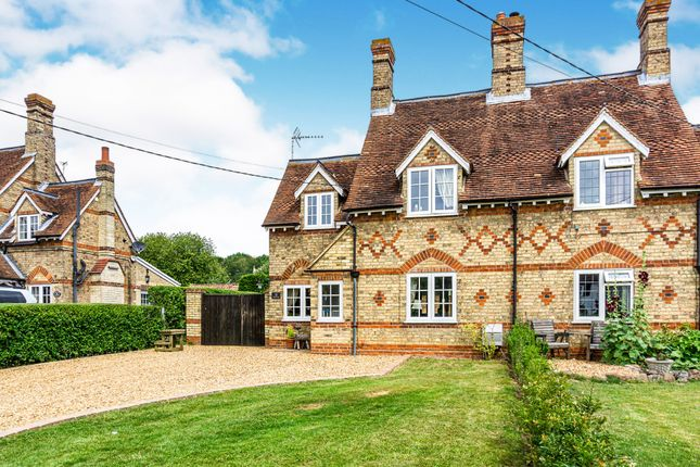 Thumbnail Semi-detached house for sale in Top End, Renhold, Bedford