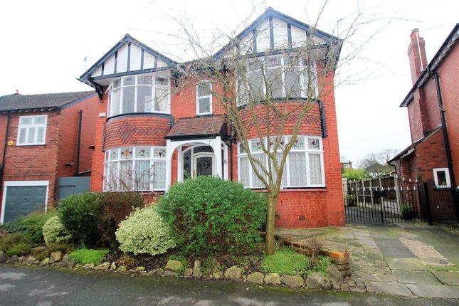 Thumbnail Detached house for sale in Woodend Road, Stockport