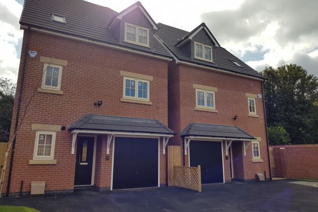 Thumbnail Detached house to rent in Observer Drive, Tettenhall, Wolverhampton