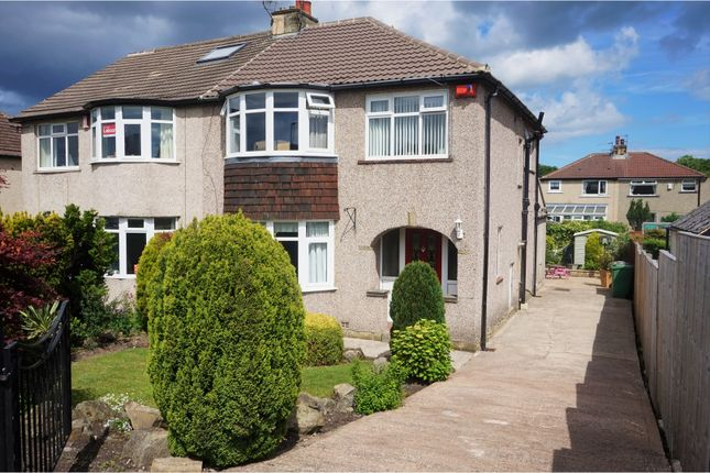 Thumbnail Semi-detached house for sale in Crowther Avenue, Calverley