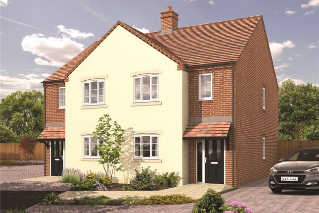 Thumbnail Semi-detached house for sale in The Green, Bransford, Worcester, Worcestershire