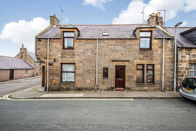 Thumbnail Terraced house for sale in Harbour Street, Hopeman, Elgin, Morayshire