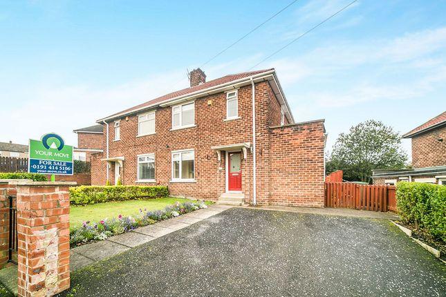 Thumbnail Semi-detached house for sale in Tynevale Avenue, Blaydon-On-Tyne