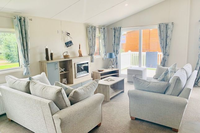 2 bed lodge for sale in Carlton, Saxmundham IP17