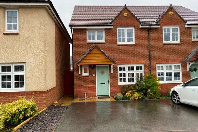3 bed semi-detached house for sale in Waters Edge Close, Churchbridge, Cannock WS11