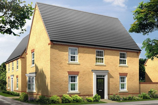 "Thumbnail Detached house for sale in ""Cornell"" at Newport Road, St. Mellons, Cardiff"