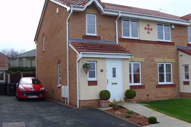 Thumbnail Semi-detached house to rent in Greendale Drive, Radcliffe, Manchester