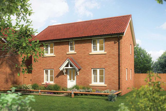 """Thumbnail Semi-detached house for sale in """"The Becket II"""" at Rudloe Drive Kingsway, Quedgeley, Gloucester"""