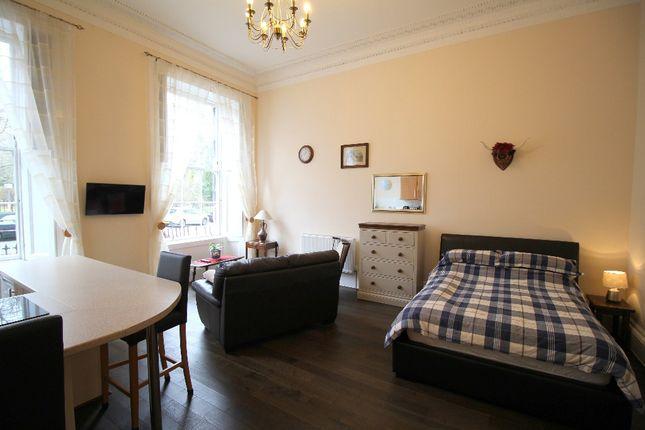 Thumbnail Studio to rent in Royal Circus, New Town, Edinburgh