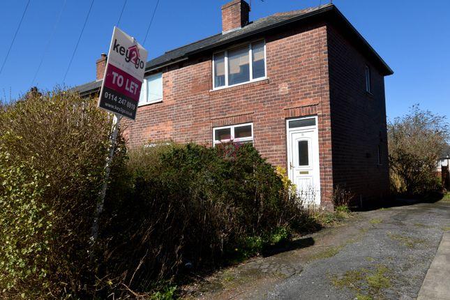 Thumbnail End terrace house to rent in Alder Lane, Sheffield