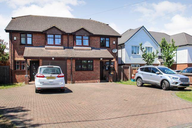 4 bed link-detached house for sale in Fawkham Road, West Kingsdown, Sevenoaks TN15