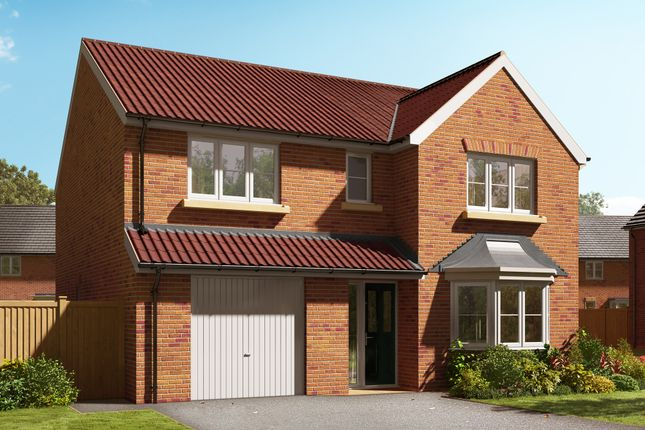 "Thumbnail Detached house for sale in ""The Haxby"" at Barff Lane, Brayton, Selby"