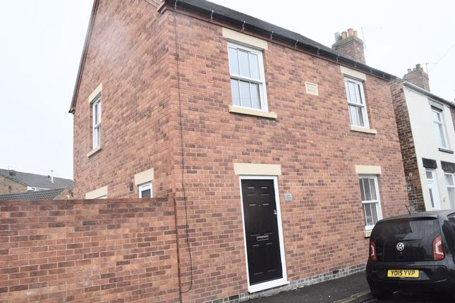 Thumbnail Detached house to rent in New Street, Church Gresley, Swadlincote