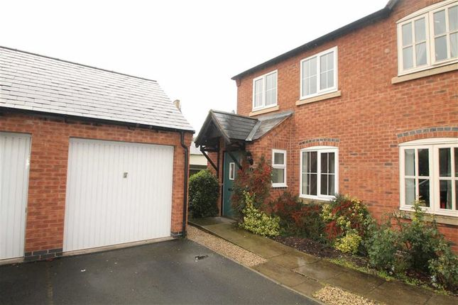 Thumbnail Semi-detached house to rent in Bramblewood Court, Chirk Bank, Wrexham