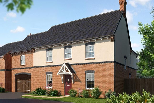 Thumbnail Detached house for sale in Acresford Road, Donisthorpe