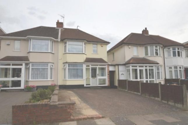 Thumbnail Semi-detached house to rent in Woolacombe Lodge Road, Birmingham, West Midlands.
