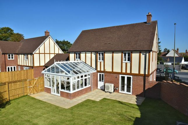 Thumbnail Detached house for sale in Tudor Walk, Rowstock, Didcot