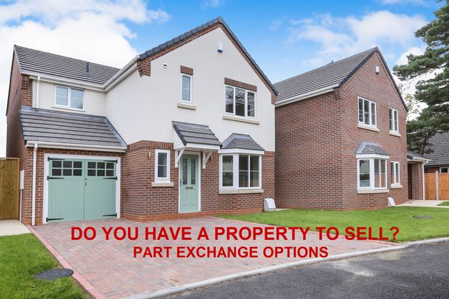 Thumbnail Detached house for sale in Wood Road, Codsall, Wolverhampton