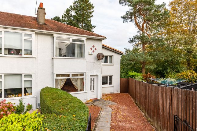 Thumbnail End terrace house for sale in 39 The Oval, Stamperland