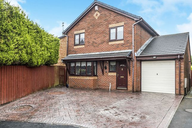 Thumbnail Detached house for sale in Meadowclough, Skelmersdale