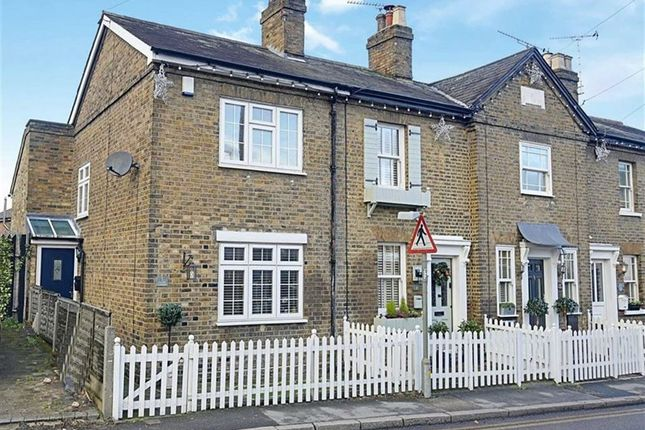 Thumbnail End terrace house for sale in Market Place, Abridge, Romford