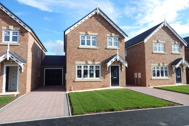 Thumbnail Link-detached house for sale in Field View, Rugeley Road, Chase Terrace