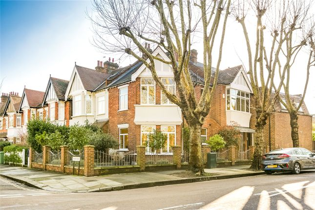 Thumbnail End terrace house for sale in Madrid Road, Barnes, London
