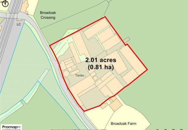 Site Plan of Burton, Rossett, Wrexham LL12