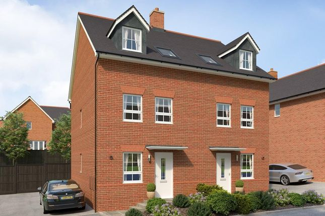 """Thumbnail Terraced house for sale in """"Norbury"""" at Chudleigh Road, Alphington, Exeter"""