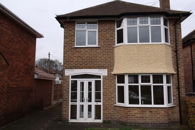 Thumbnail Detached house to rent in Brendon Road, Wollaton, Nottingham