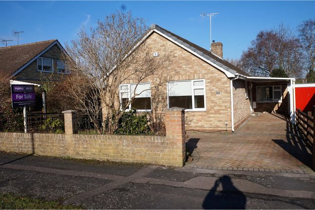 Thumbnail Detached Bungalow For Sale In Hall Farm Crescent Yateley